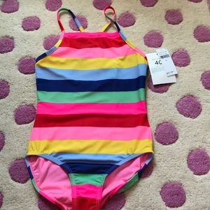 gap girls one piece swim suit